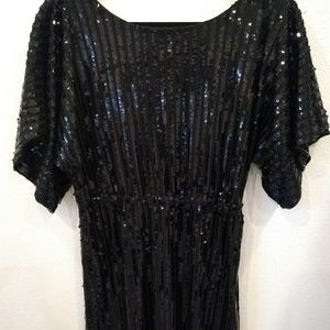 Short Sequined Dress